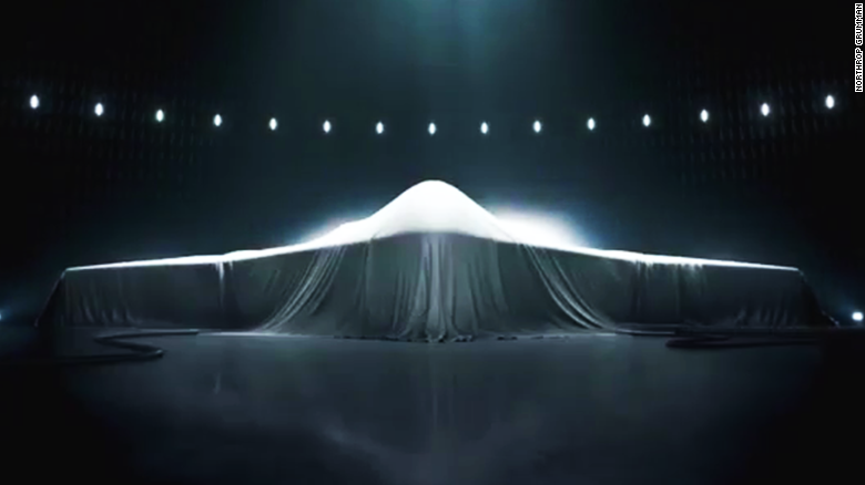 Misterioso nuevo bombardero furtivo estadounidense