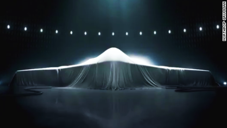 Mysterious new U.S. stealth bomber