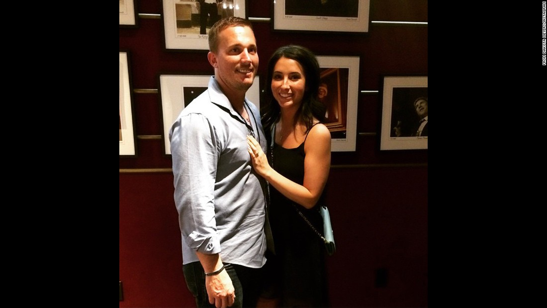 "Dakota Meyer announced his engagement to Bristol Palin, Palin's oldest daughter, with a <a href=""https://instagram.com/p/0MumH3HXL_/"" target=""_blank"">photograph on Instagram</a>. The couple met when the war hero visited Alaska to film ""Amazing America,"" Sarah Palin's show on Sportsman Channel, Bristol Palin <a href=""http://www.patheos.com/blogs/bristolpalin/2015/03/engaged/#more-8040"" target=""_blank"">said on her blog</a>. ""He's wonderful with Tripp and I'm so proud to be marrying him,"" she said."