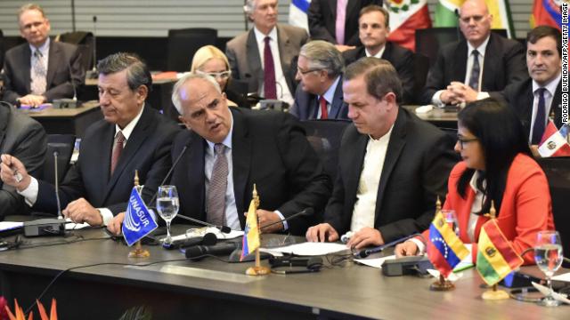 Unasur pide a EE.UU. derogar el decreto sobre Venezuela