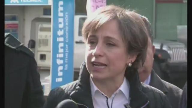 MVS niega haber censurado a Aristegui por reportaje de casa presidencial