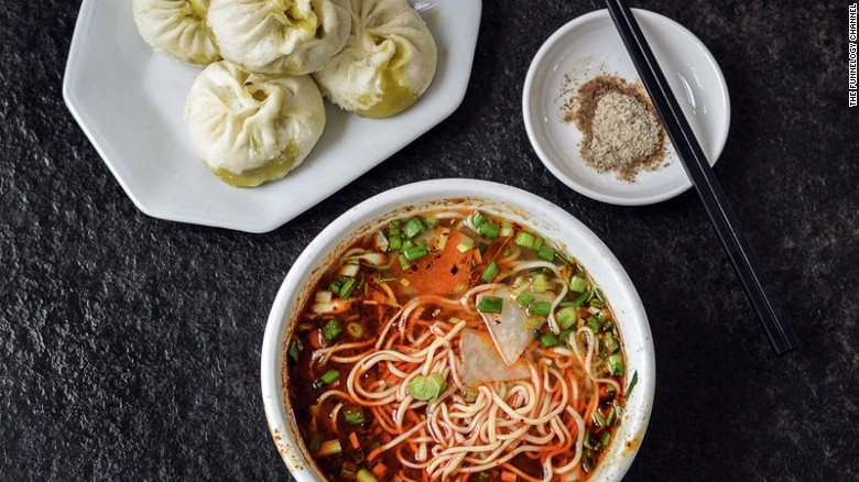 """We still dream about the noodles and dumplings of northwest China,"" says the traveling duo. ""Unlike their southern counterparts, these noodles are the closest thing to reinforce the argument that pasta comes from China."""
