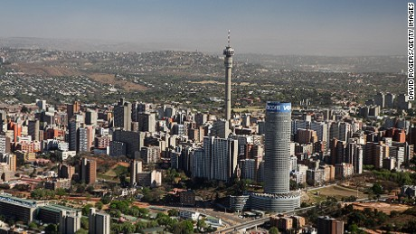 How many millionaires? The wealtiest African cities