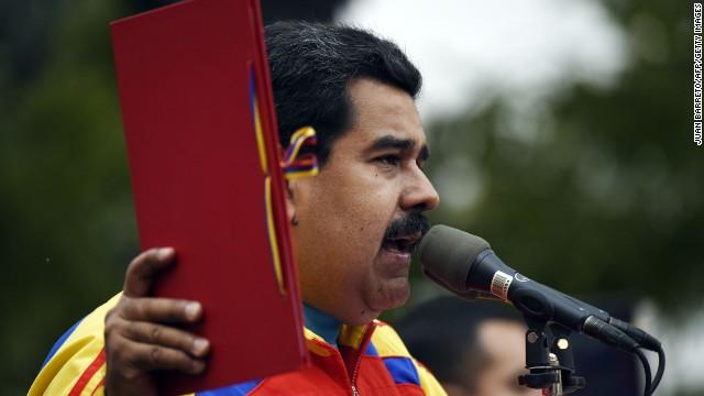 """Venezuela niega ser una """"amenaza"""" para EE.UU. en una carta en el New York Times"""