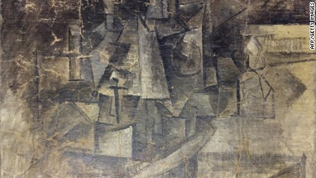 """""""The Hairdresser"""" by Pablo Picasso went missing in 2001."""