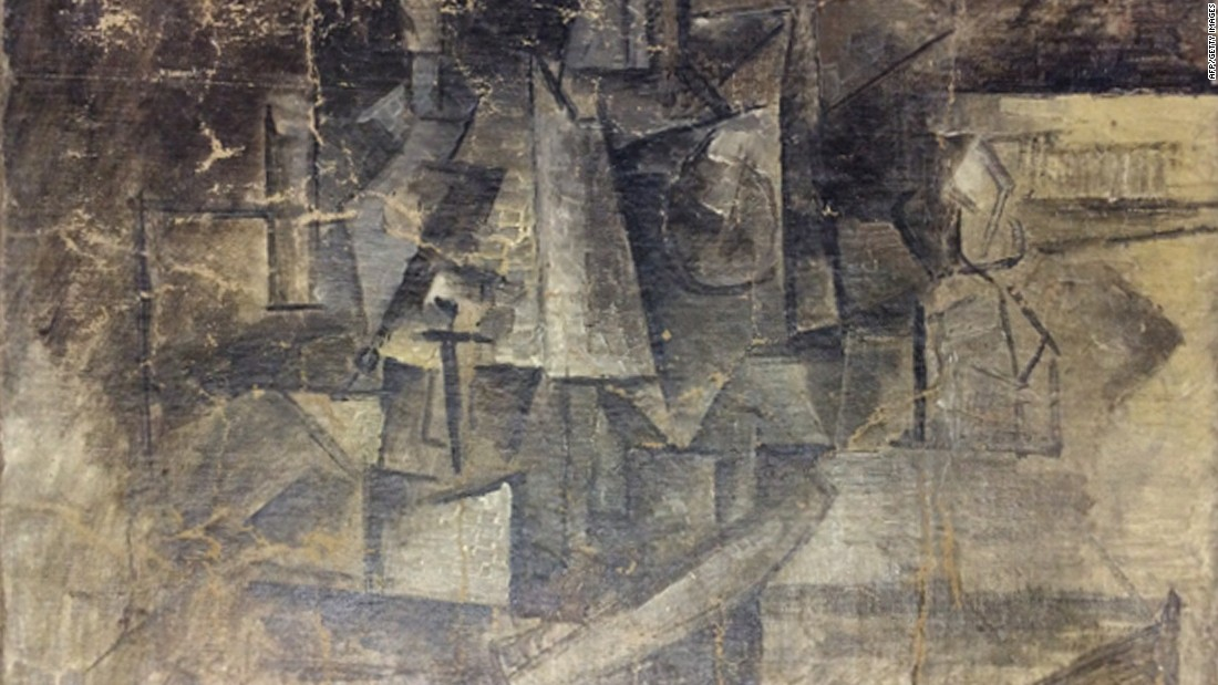 "Picasso's ""La Coiffeuse"" (""The Hairdresser"") was <a href=""http://www.cnn.com/2015/02/26/living/stolen-picasso-recovered/index.html"" target=""_blank"">discovered missing</a> in 2001 and was recovered when it was shipped from Belgium to the United States in December 2014. The shipper said it was a $37 piece of art being sent to the United States as a Christmas present. The feds say it was actually a stolen Picasso, missing for more than a decade and worth millions of dollars."