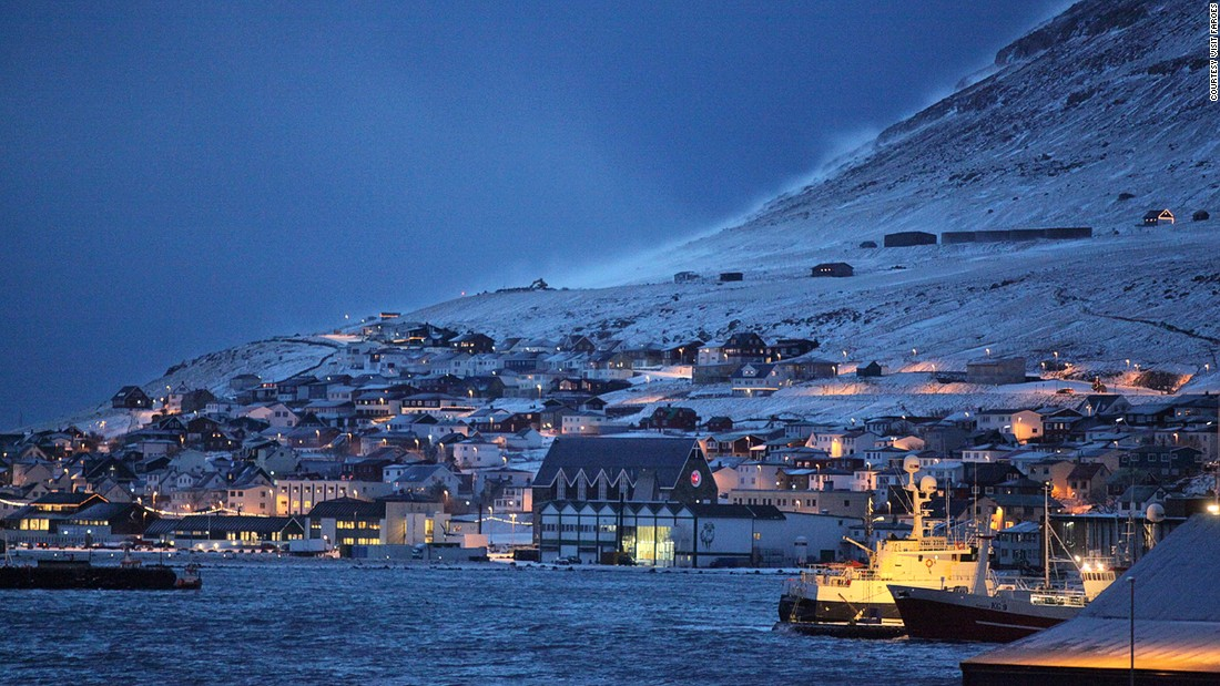"Founded in Viking times and well protected by a bay, <a href=""http://www.portofklaksvik.com/home.html"" target=""_blank"">Klaksvik</a> serves as the main fishing port in the Faroes."