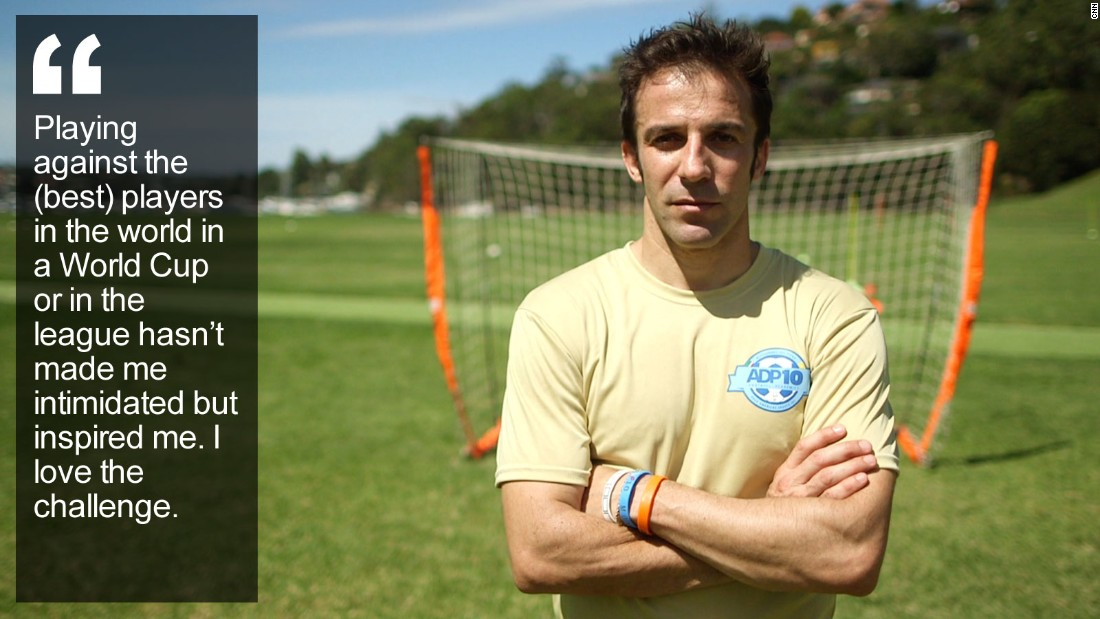 """He's a Rolls Royce footballer who honed his game in his parents' garage, and even past the age of 40 the former World Cup winner is still purring along. <a href=""""/2015/03/18/football/del-piero-human-to-hero/index.html"""" target=""""_blank"""">Read more </a>"""
