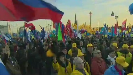 Russia celebrates Crimea anniversary