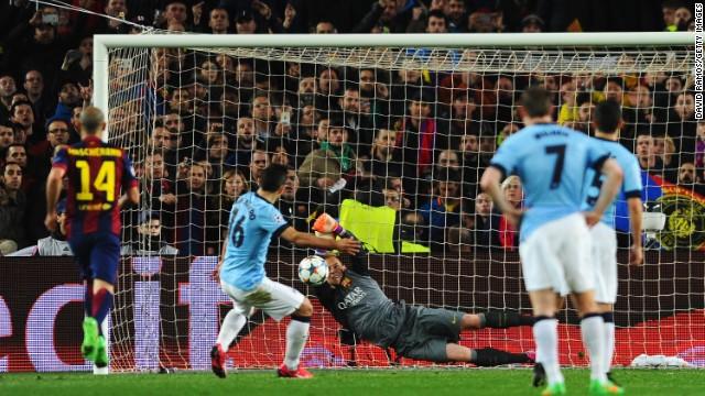 Mascherano, el héroe del Barça: le indicó al arquero dónde iba a patear Agüero el penalti