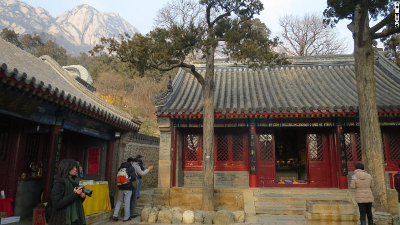 Longquan Monastery on the outskirts of Beijing.