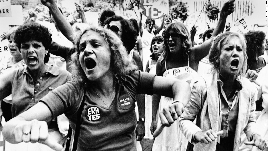 In 1972, the House and Senate passed the ERA by the necessary two-thirds votes before sending it to state legislatures for ratification. Three-quarters of the states needed to ratify it, but the ERA fell three states short by its 1982 deadline. Among those where it failed was Florida, where supporters voiced their disapproval after the state Senate voted 22-16 against the ERA in June 1982.
