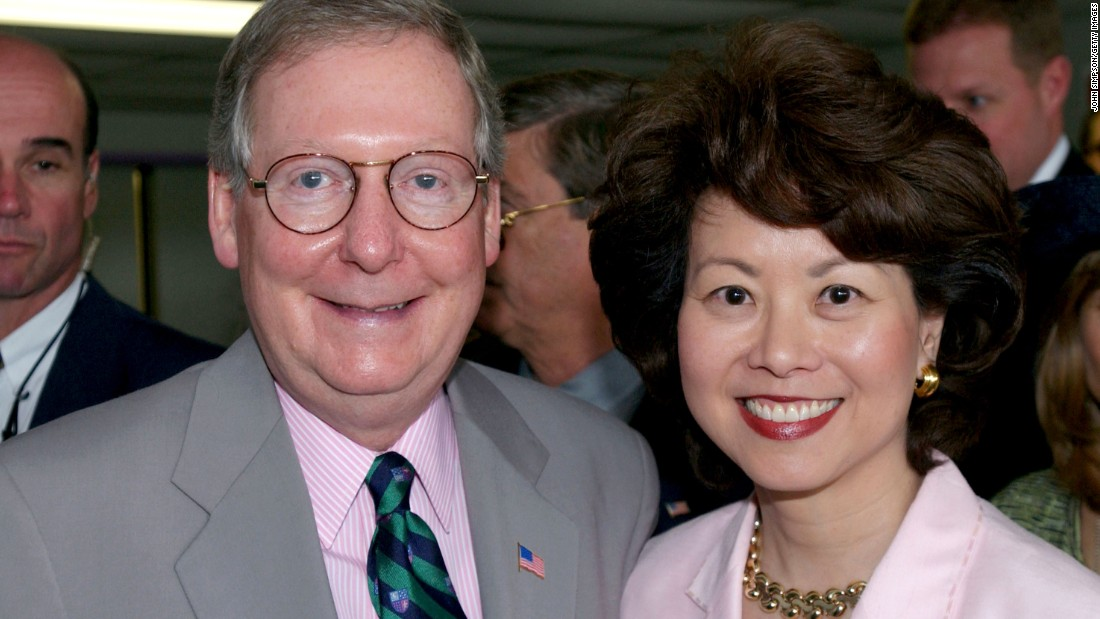Why Elaine Chao, Wife of Mitch McConnell, Could Help Sink