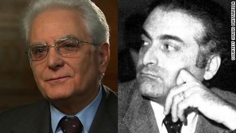 """Presidente de Italia: """"Mi hermano fue asesinado por la mafia"""""""