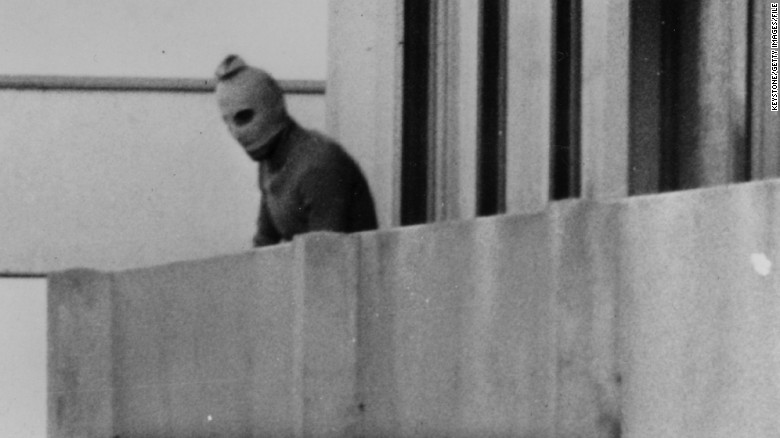 One of the Black September guerrillas who broke into the Munich Olympic Village, killed two members of the Israeli team, and took nine others hostage. Eventually all the hostages were killed after a battle at Munich Airport.