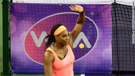 Serena Williams ends boycott, returns to Indian Wells