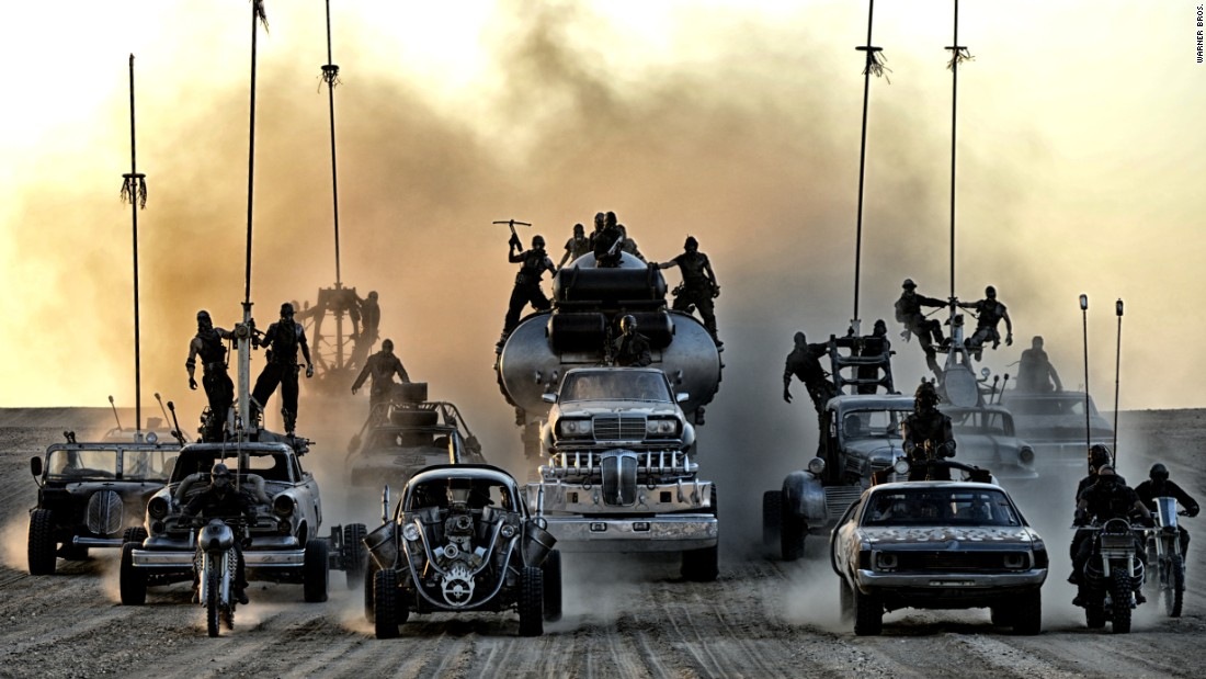"<strong>Best production design: </strong>""Mad Max: Fury Road"" (Production design by Colin Gibson; set decoration by Lisa Thompson)"