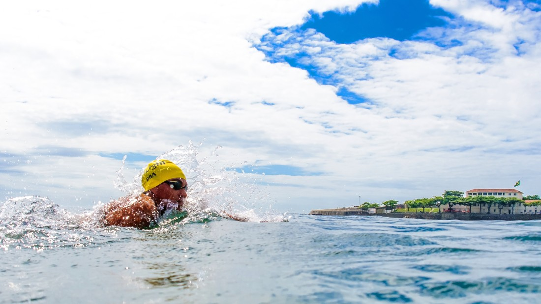 Brazil can more than double its best-ever previous Olympic performance, according to Infostrada, which awards gold to Brazilian open-water swimmer Ana Marcela Cunha.