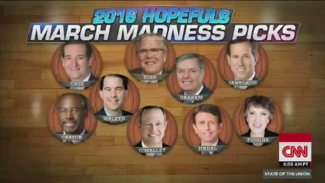 sotu borger ncaa march madness brackets 2016 hopefuls bush cruz omalley jindal fiorina graham_00001919