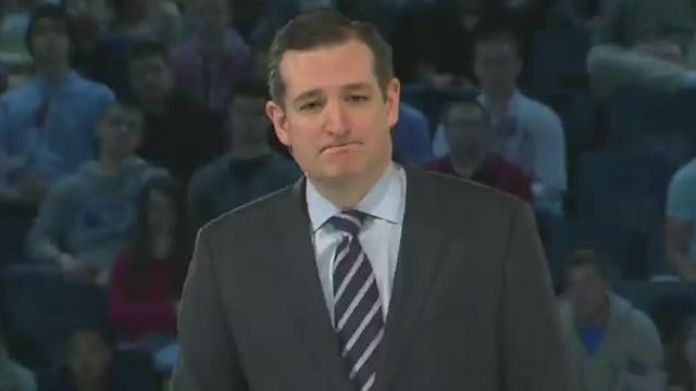 Ted Cruz: 'I'm running for president'