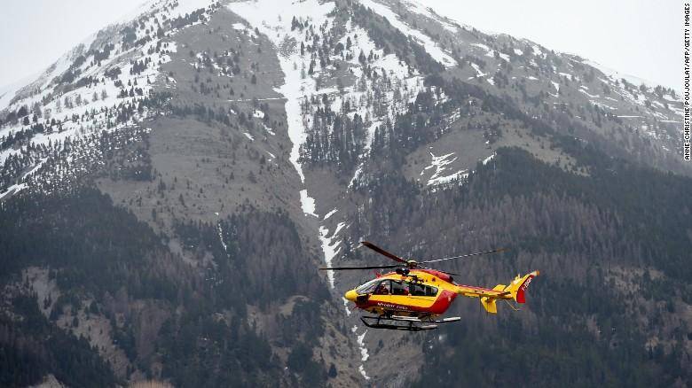 El sitio donde cayó el avión de Germanwings, una región casi desierta