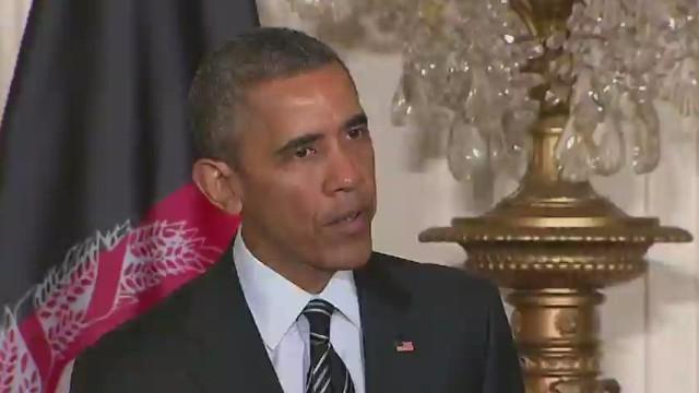 Obama halts Afghanistan troop withdrawal