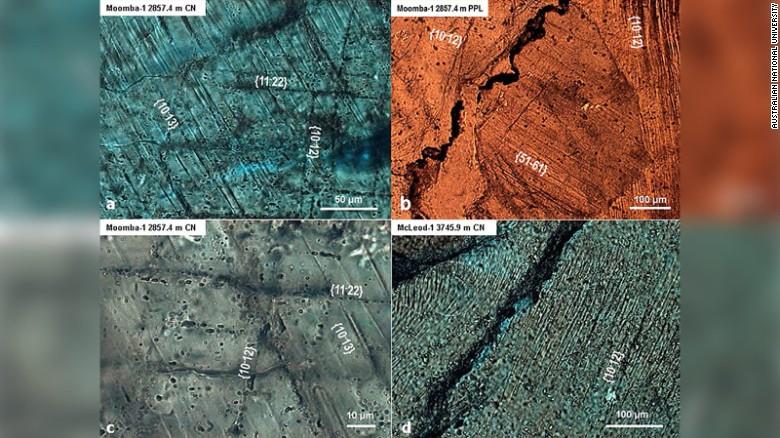 Investigadores encuentran el cráter de meteorito más grande del mundo en Australia