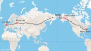 ¿Carretera desde Londres hasta Nueva York?