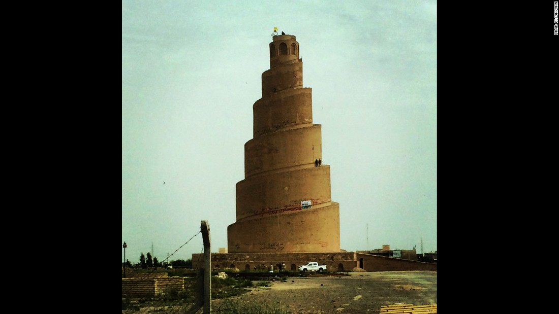 "IRAQ: ""Tower at the Great Mosque of Samarra. We were up doing a report about the volunteer fighters who drove out ISIS, or Daesh as it's called by the locals. If they had overrun the area, this tower would probably no longer exist. The volunteer fighters we met had suffered many losses but were able to protect their homes and their families from the Daesh. This area has been ravaged by war for many years now but the people were cheerful and friendly. There were many pilgrims visiting the city and life goes on."" - CNN's Brad Olson.<br />Follow <a href=""http://instagram.com/cnnbrad"" target=""_blank"">@cnnbrad</a> and other CNNers on the <a href=""http://instagram.com/cnnscenes"" target=""_blank"">@cnnscenes</a> gallery on Instagram for more images you don't always see on news reports from our teams around the world."