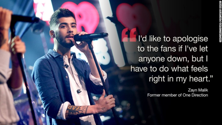 La salida de Zayn Malik de One Direction rompe Spotify