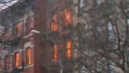 Explosión y colapso de un edificio en Nueva York