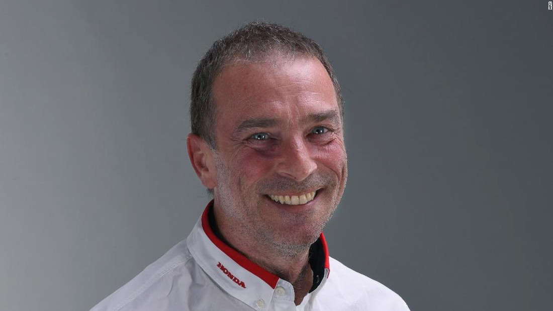 Italian Livio Suppo -- a former Ducati team boss -- now works with MotoGP favorite Marquez in his role as Honda team principal.