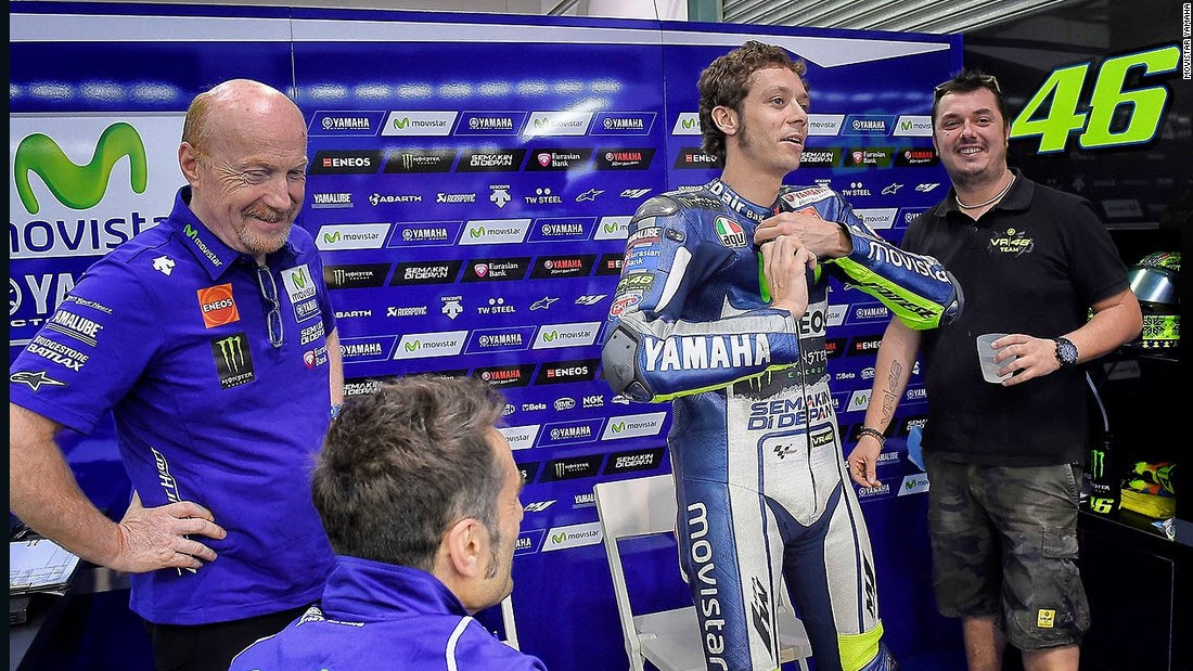 Multiple MotoGP world champion Valentino Rossi could also be a contender, although he's struggled in preseason testing.