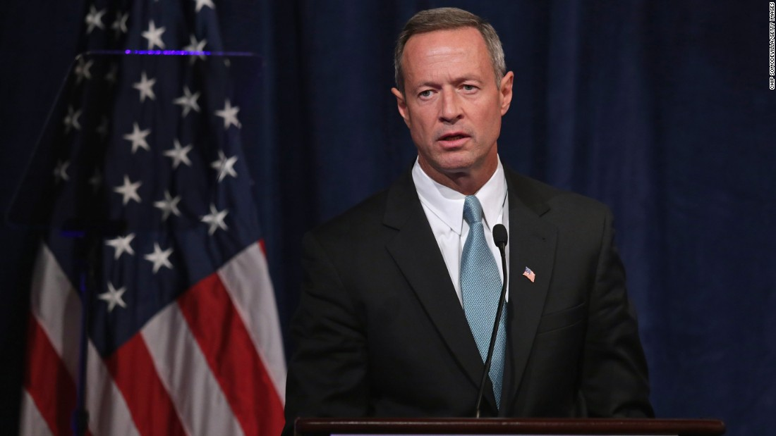 O'Malley addresses a conference commemorating the 10th anniversary of the Center for American Progress on October 24, 2013.