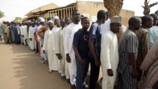 Nigerian economy weighs on voters' minds