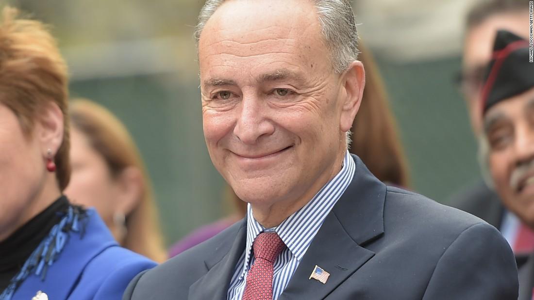 New York Sen. Chuck Schumer