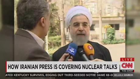 Reporting from inside Iran