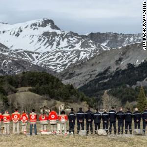 germanwings alps crash memorial