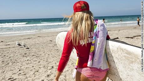 San Diego, La Jolla, beach, Surf Diva, lesson