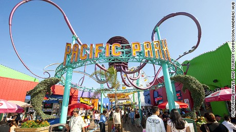 The Santa Monica Pier has everything from a trapeze school to an aquarium.