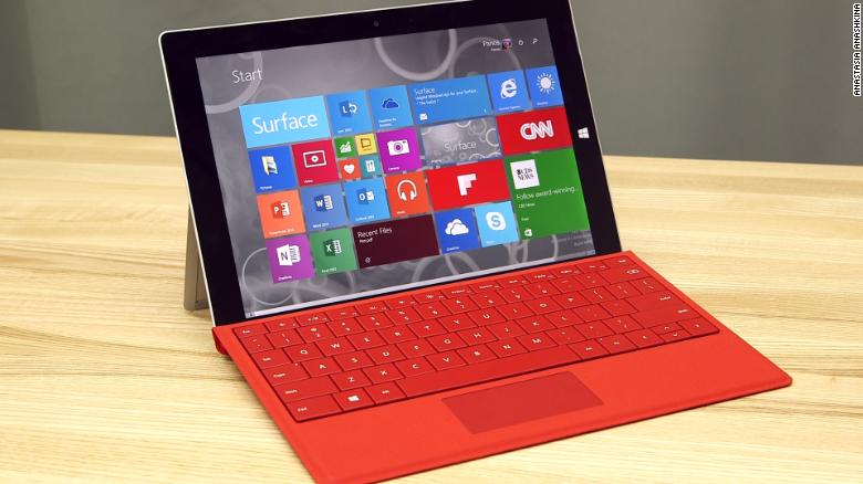 11 características de la nueva Surface 3 de Microsoft