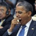Obama yawn