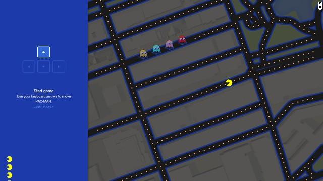 Google Maps te pone a jugar Pac-Man en las calles de tu ciudad