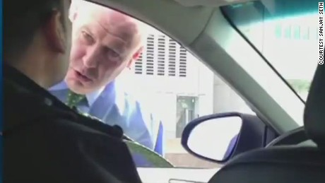 ac sot blitzer nypd member scolds uber driver_00013719