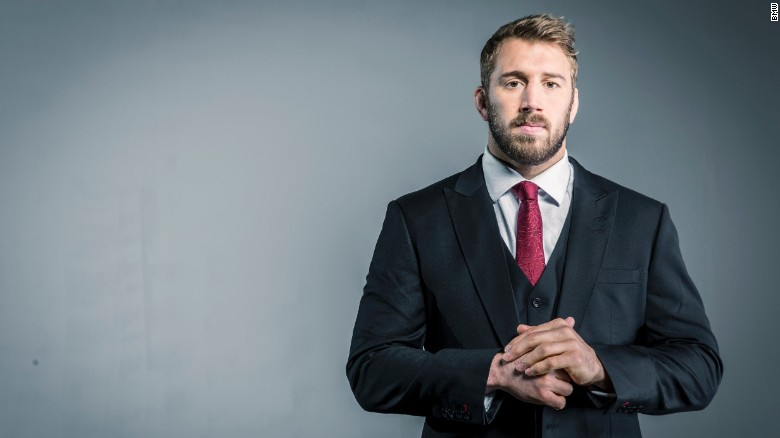 Rugby World Cup: The making of England rugby captain Chris Robshaw