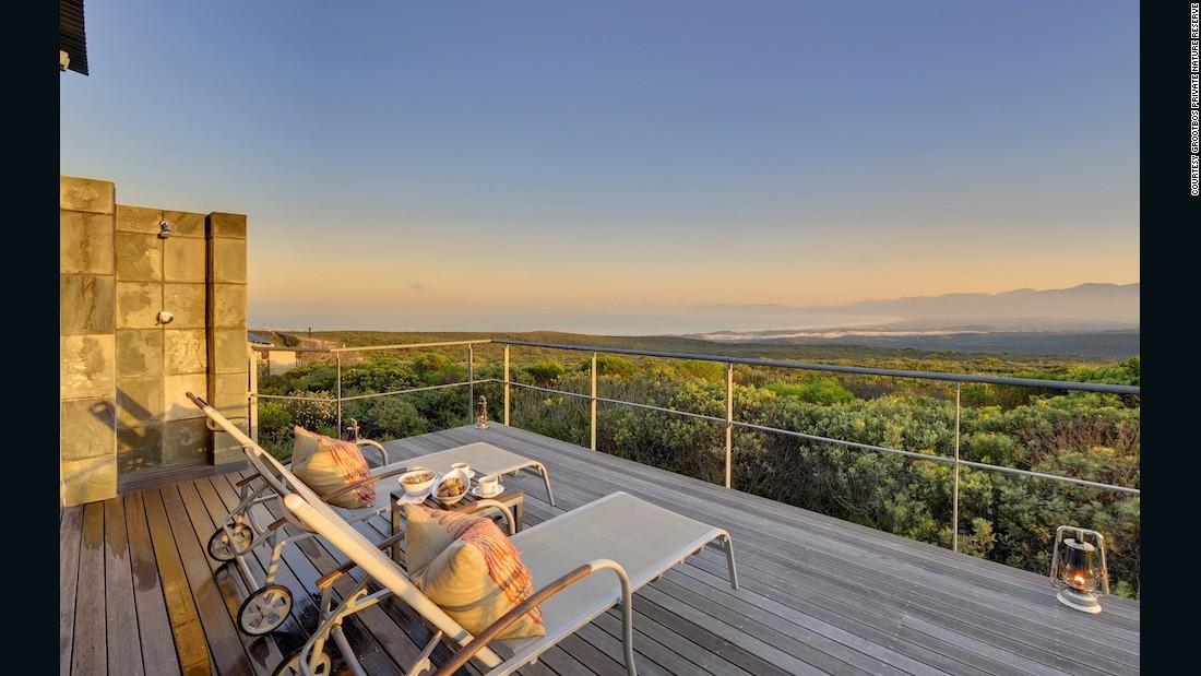 """""""The Lutzeyer family bought an overused dairy farm in the scrublands of the southern Cape about 20 years ago, 'for the view,' admits current patriarch Michael. Today, Grootbos is world-renowned as a botanical wonderland, and the family is using its seemingly bottomless energies and resources on various ecological and social development projects."""""""