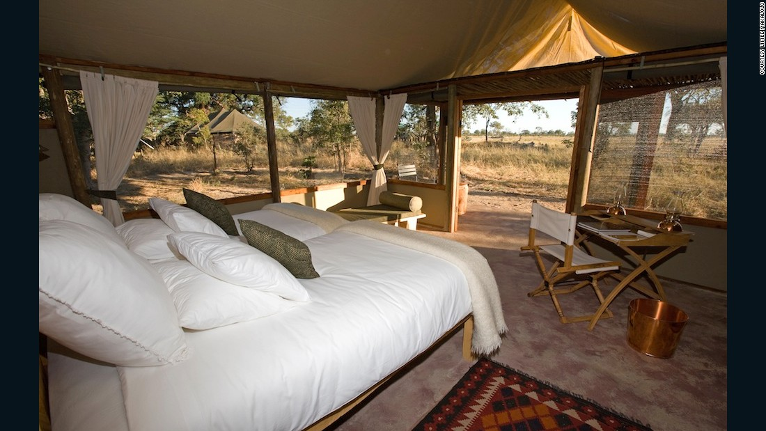 """""""Very often it is the things you don't see that make all the difference, and so it is with Little Makalolo that sits in big game country of Hwange National Park. Although the lodge itself is all canvas and timber, the fact that the lodge supports not only the surrounding communities but, pretty much keeps the entire national park viable."""""""