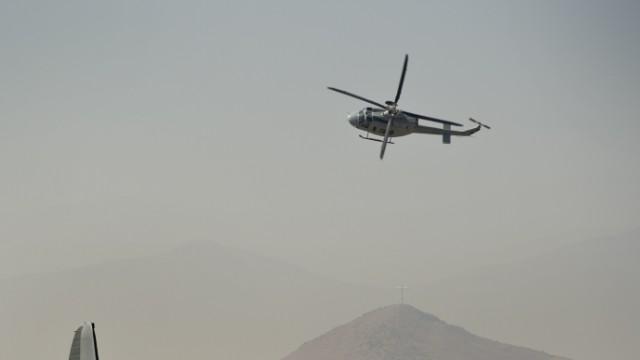 Desaparece helicóptero de rescate en Chile con familiar de Bachelet a bordo