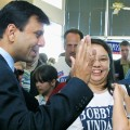 Jindal campaigns for governor 2003