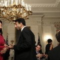Jindal and Nikki Haley and National Governor's Association dinner